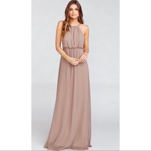Show Me Your Mumu - Amanda Maxi Dress Dune Chiffon